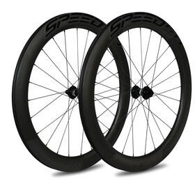Veltec Speed 6.0 Road Wheelset 60mm Disc Brake 12x100mm/12x142mm XDR black